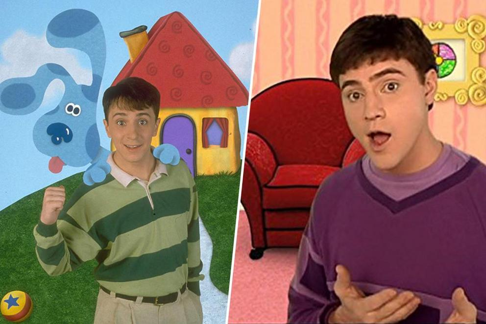 Who was your favorite 'Blue's Clues' host: Steve or Joe?
