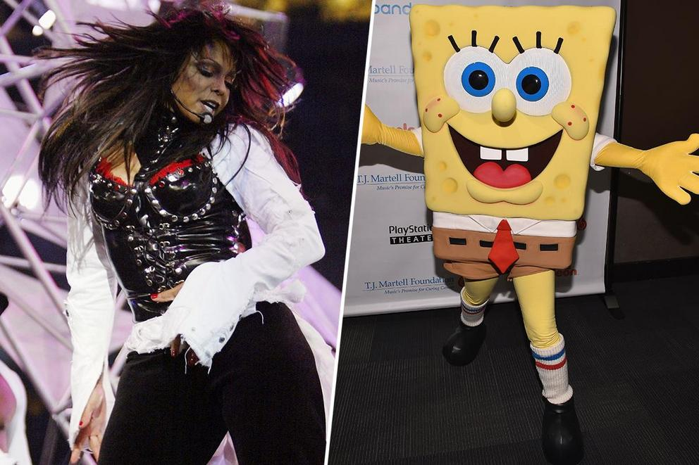 Who stole Super Bowl Sunday: Janet Jackson or SpongeBob SquarePants?