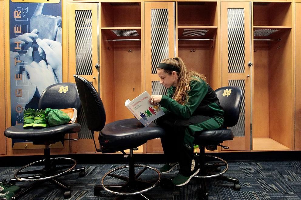 Should full-time college athletes be part-time students?