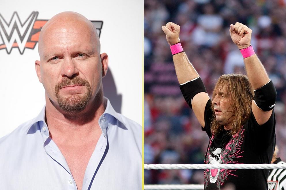 Best WWE face: 'Stone Cold' Steve Austin or Bret 'The Hitman' Hart?