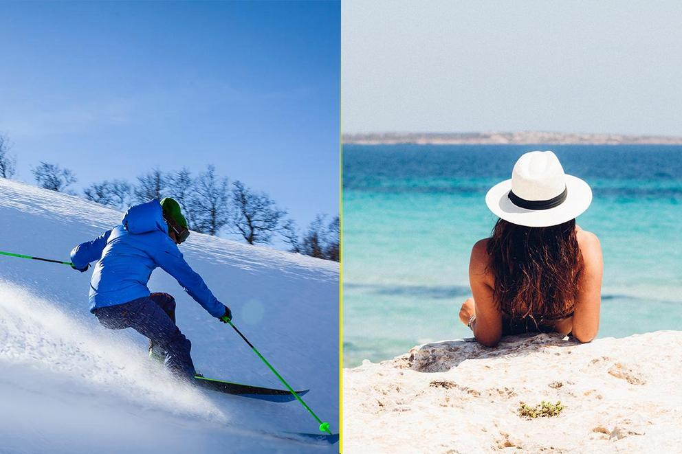 Do you spend more money during the summer or winter months on social plans?