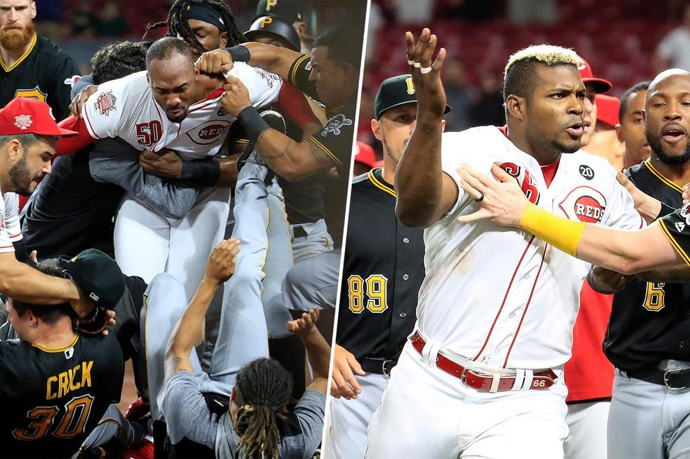 Who would you rather have back you up in a fight: Amir Garrett or Yasiel Puig?