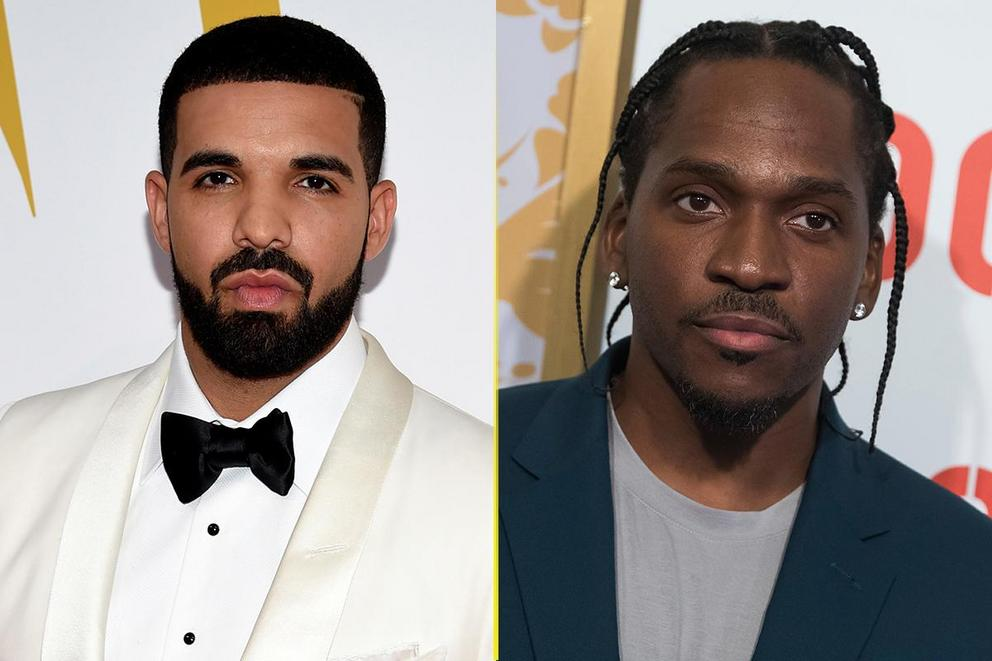 Who's winning the rap battle: Drake or Pusha T?