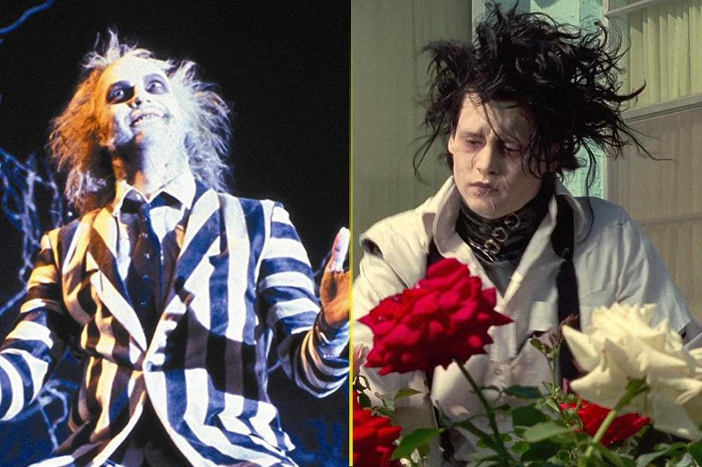 Favorite Tim Burton fantasy film: 'Beetlejuice' or 'Edward Scissorhands'?
