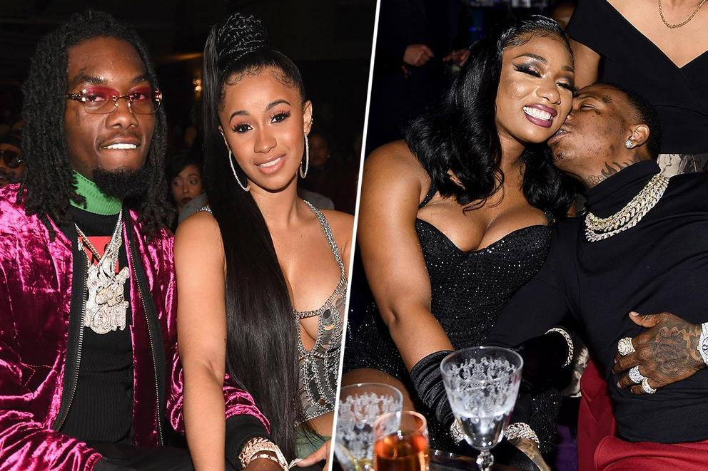 Favorite hip-hop couple: Cardi B and Offset or Megan the Stallion and Moneybagg Yo?