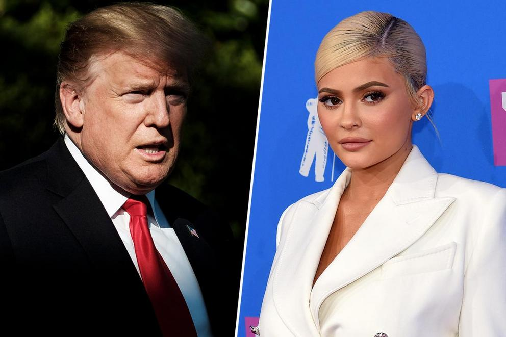Who's your favorite self-made billionaire: Donald Trump or Kylie Jenner?