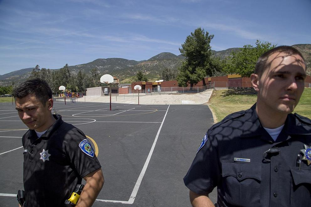 Should police officers be in schools?