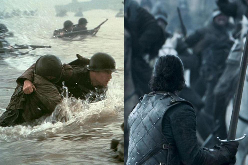 Which battle scene is better: Saving Private Ryan or The Battle of the Bastards?