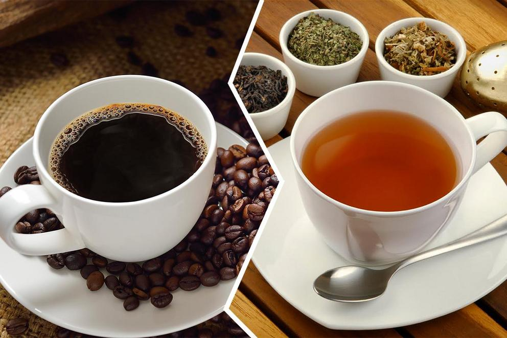 Tea or coffee: Which one gives you life?