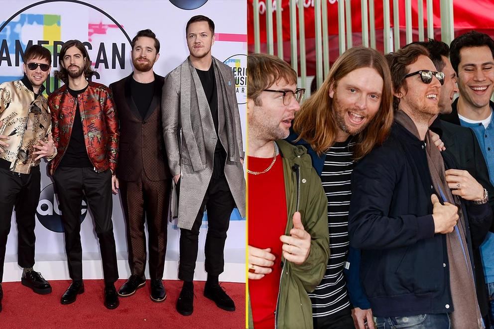 iHeartRadio Best Duo/Group of the Year: Imagine Dragons or Maroon 5?