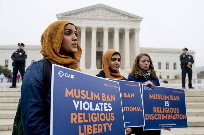 Do you support President Trump's travel ban?