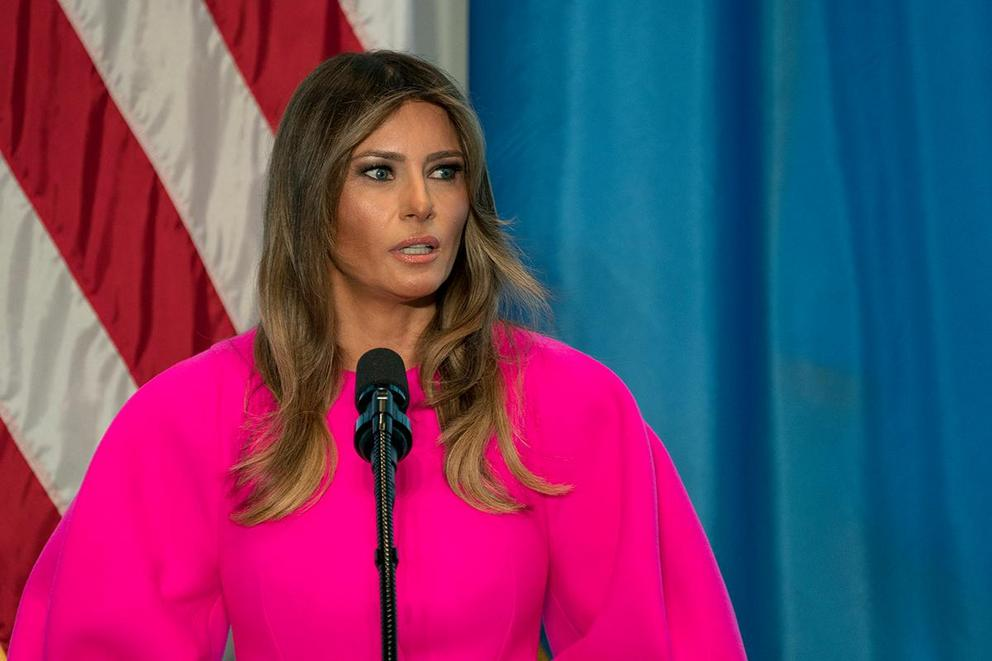 Is Melania Trump's cyberbullying campaign genuine?