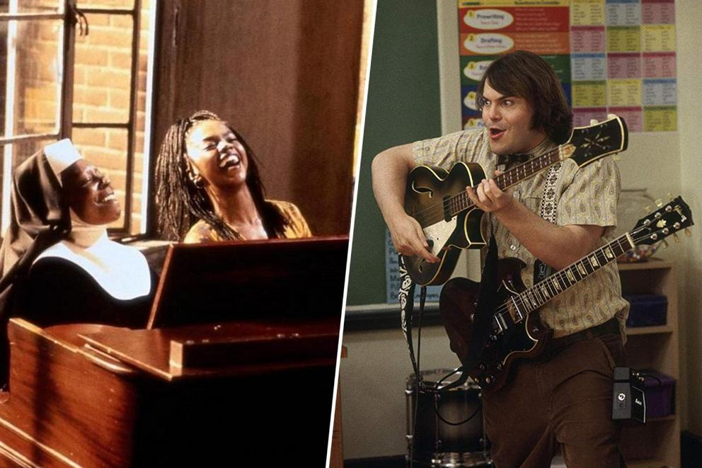 Which music teacher movie do you love most: 'Sister Act 2' or 'School of Rock'?