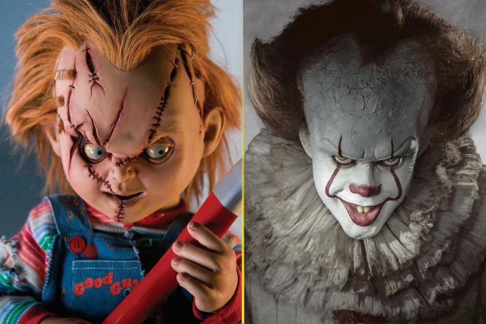 Scariest movie monster: Chucky or Pennywise?