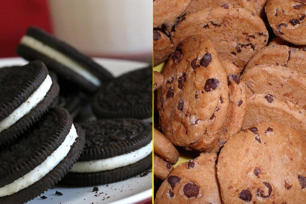 Best cookies with milk: Chips Ahoy! or Oreos?