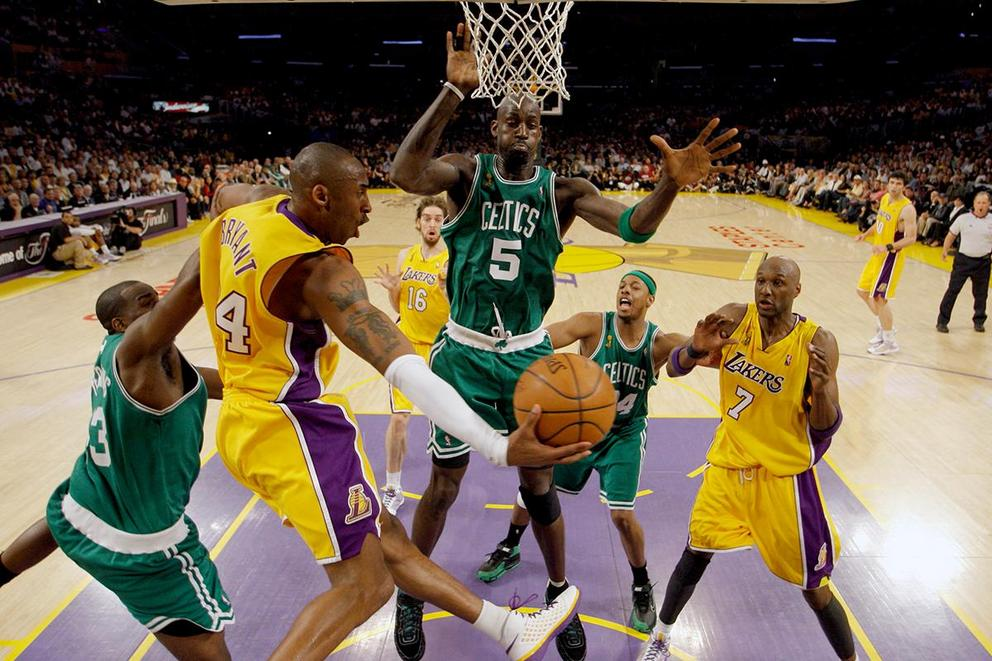 Which NBA franchise is the greatest: Los Angeles Lakers or Boston Celtics?