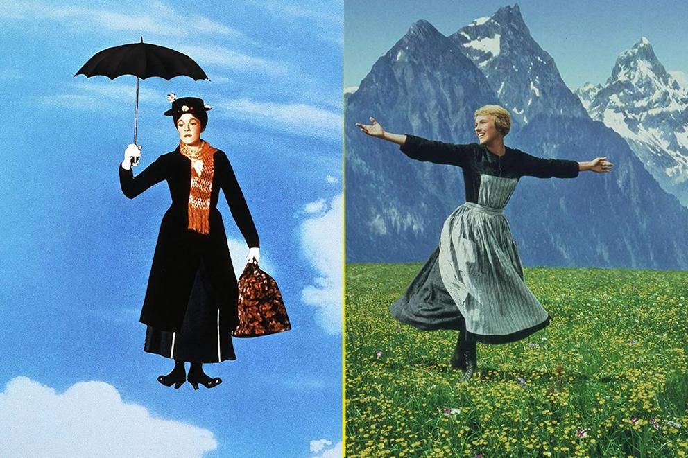 Most iconic Julie Andrews musical: 'Mary Poppins' or 'The Sound of Music'?