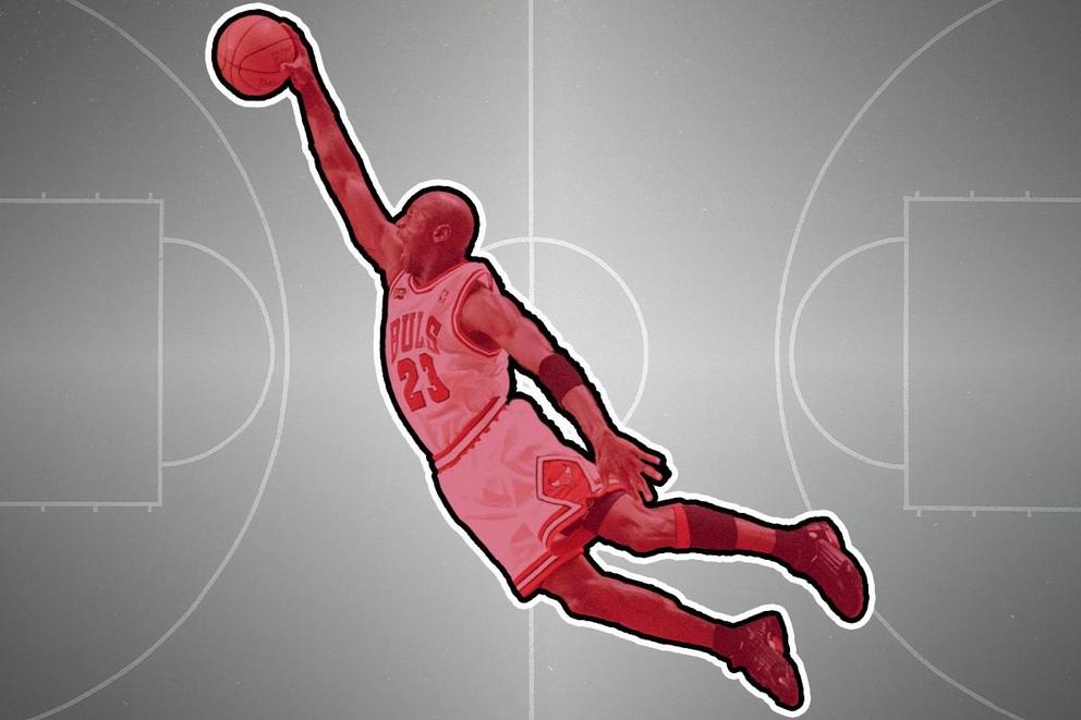 Michael Jordan's most iconic dunk ever?