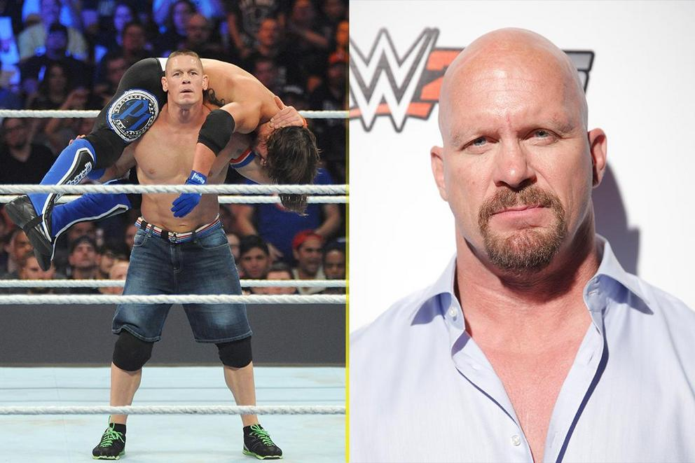 Best WWE face: John Cena or 'Stone Cold' Steve Austin
