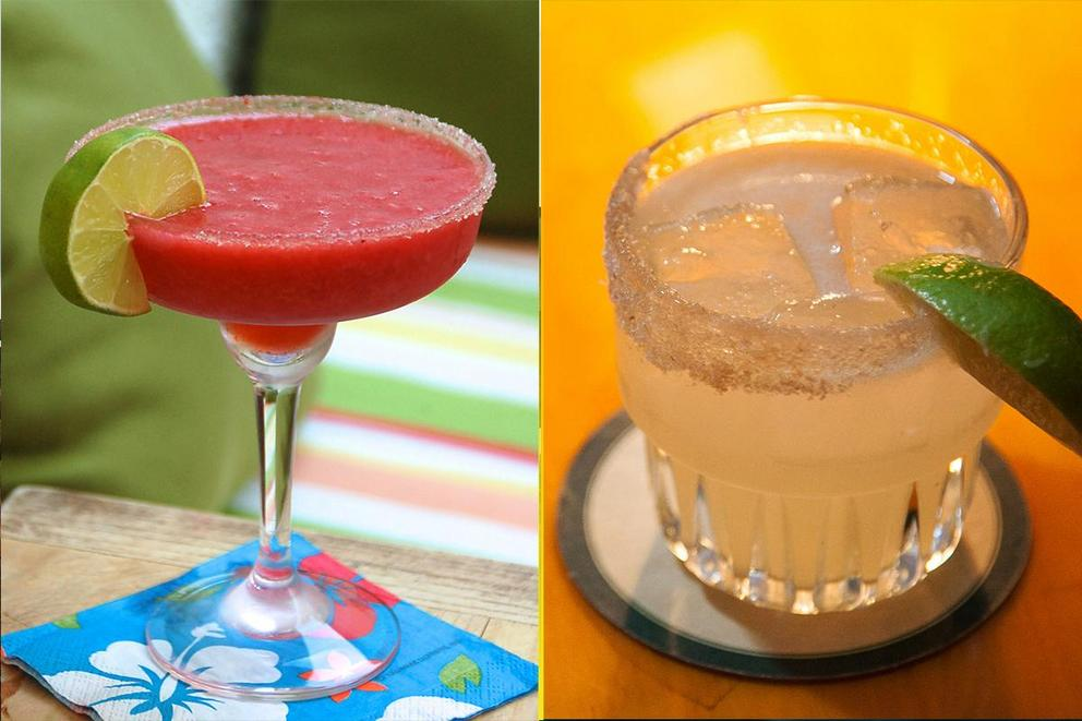 Do you prefer your margarita frozen or on the rocks?
