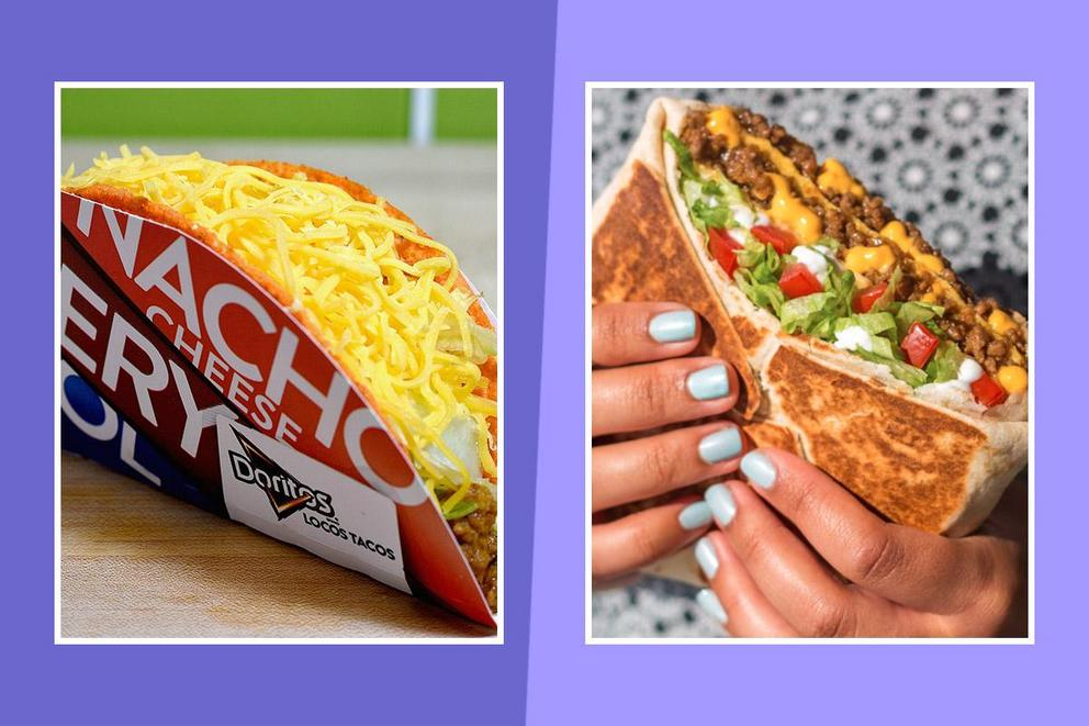 Best Taco Bell invention: Doritos Locos Taco or Crunchwrap Supreme?