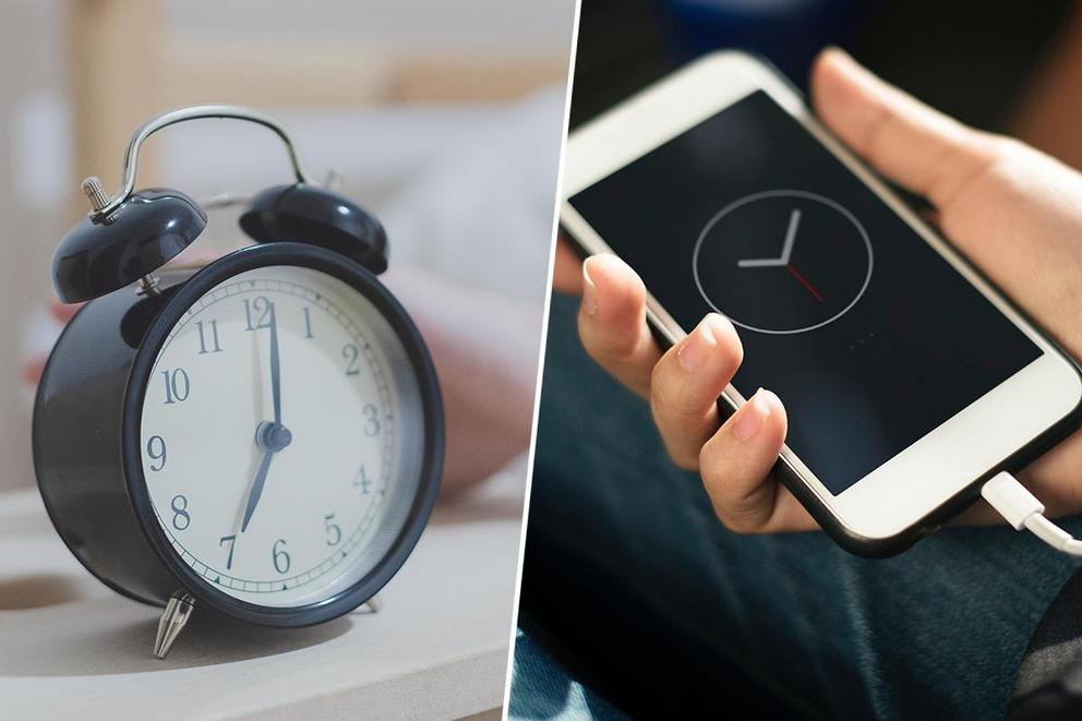 Do you wake up with an alarm clock or phone?