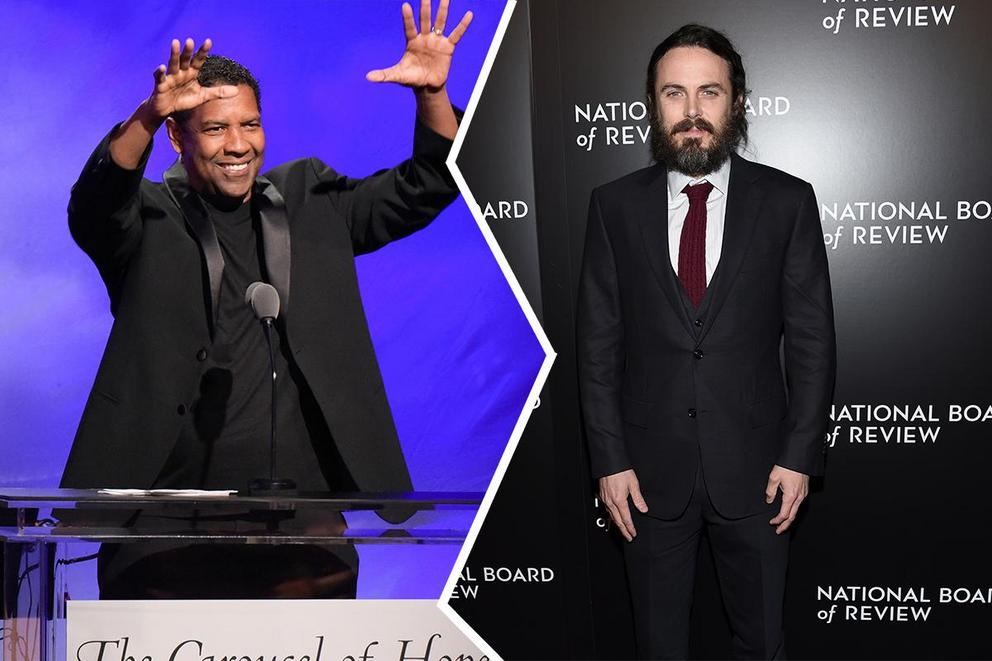 Who will win Best Actor, Drama: Denzel Washington or Casey Affleck?