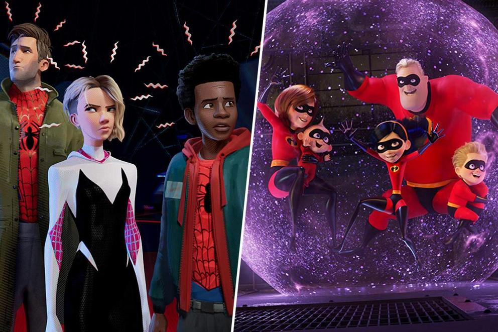 2019 Oscars Best Animated Feature Film: 'Spider-Man: Into the Spider-Verse' or 'Incredibles 2'?