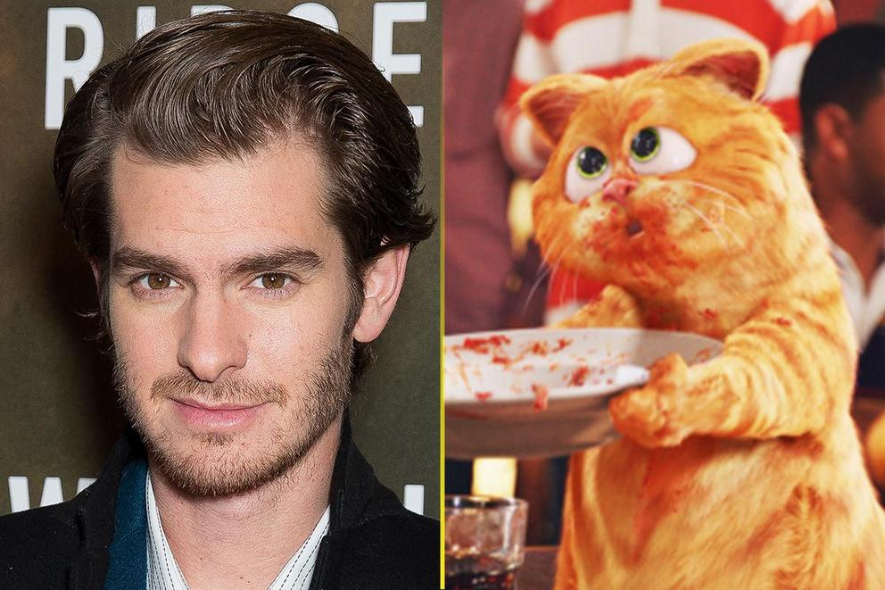 Who's the better Garfield: Andrew Garfield or Garfield the Cat?