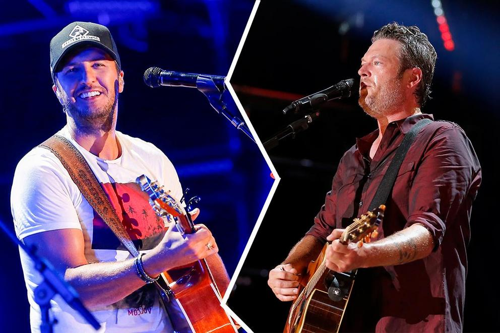 Who will win Favorite Country Male Artist: Luke Bryan or Blake Shelton?