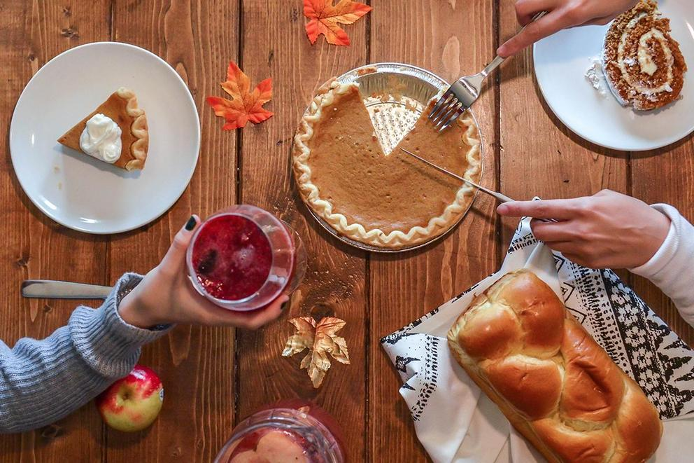 Would you rather celebrate Thanksgiving with your friends or with your family?