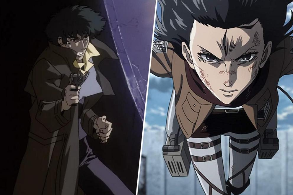 Which anime has the best theme: 'Cowboy Bebop' or 'Attack on Titan'?