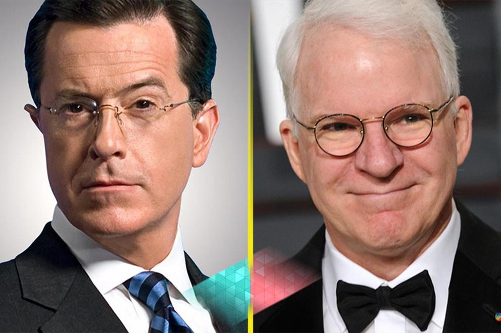 Best comedy act: Stephen Colbert or Steve Martin?
