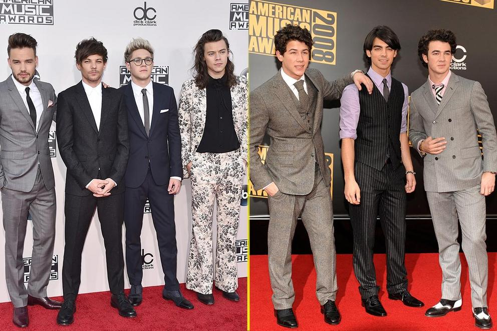Which pop-rock boy band do you miss more: One Direction or Jonas Brothers?