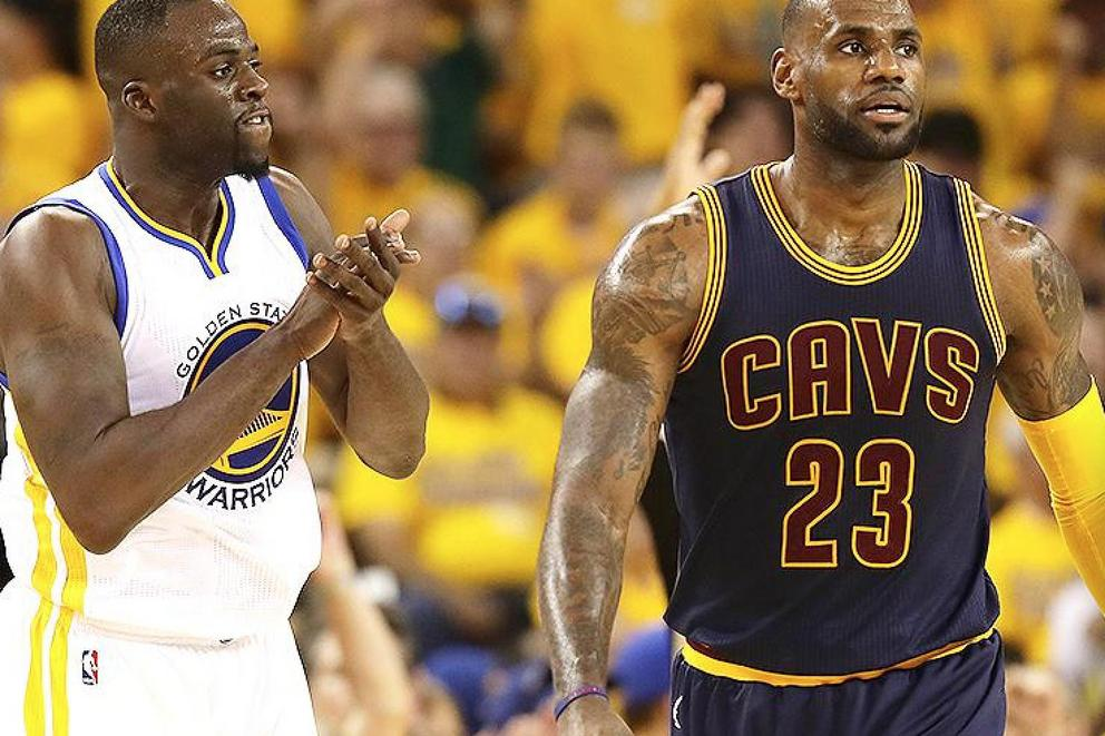 Can the Warriors sweep the series or will the Cavs start to come back?