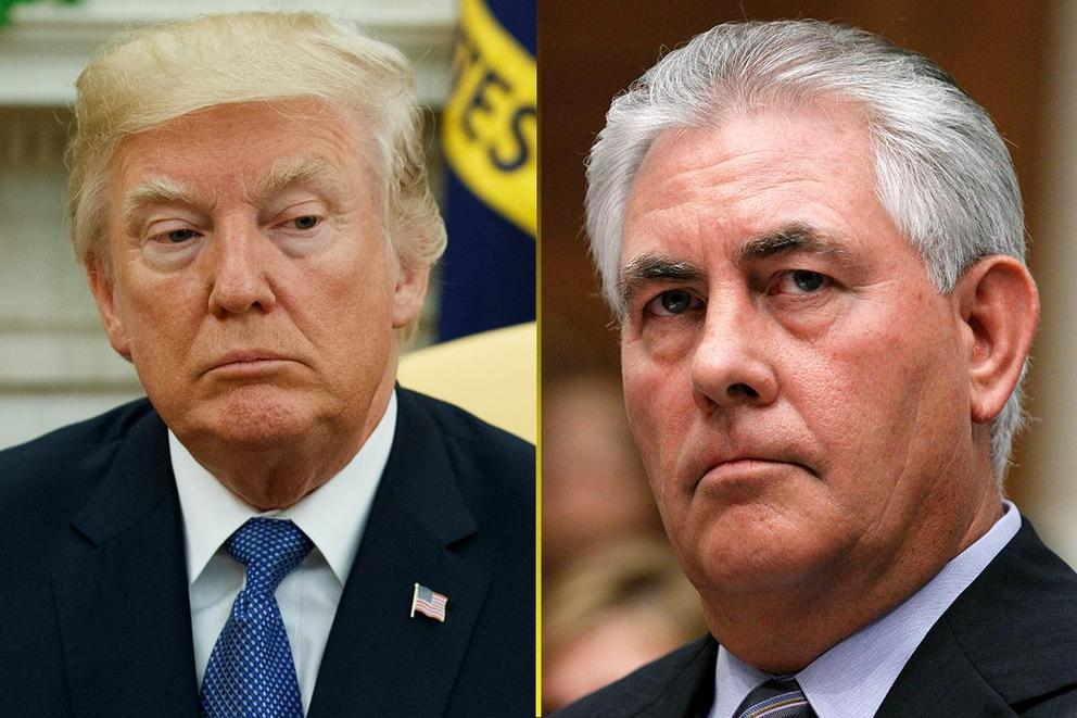 Who would win in an IQ test: President Trump or Rex Tillerson?