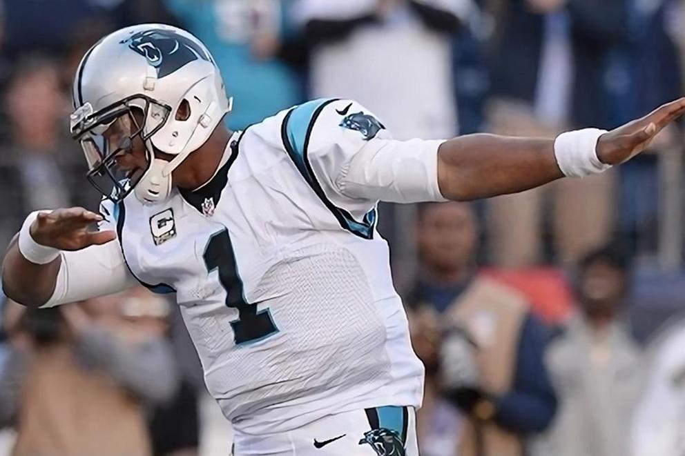 Cam Newton is retiring the dab for a new dance move next season