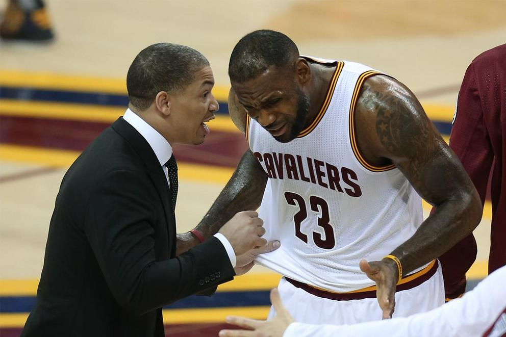 Is LeBron James the real coach, GM of the Cleveland Cavaliers?