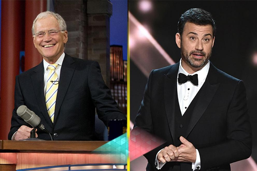 Funniest late night show host: Jimmy Kimmel or David Letterman?