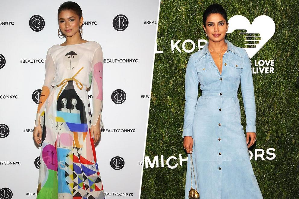 Favorite style icon of today: Zendaya or Priyanka Chopra?