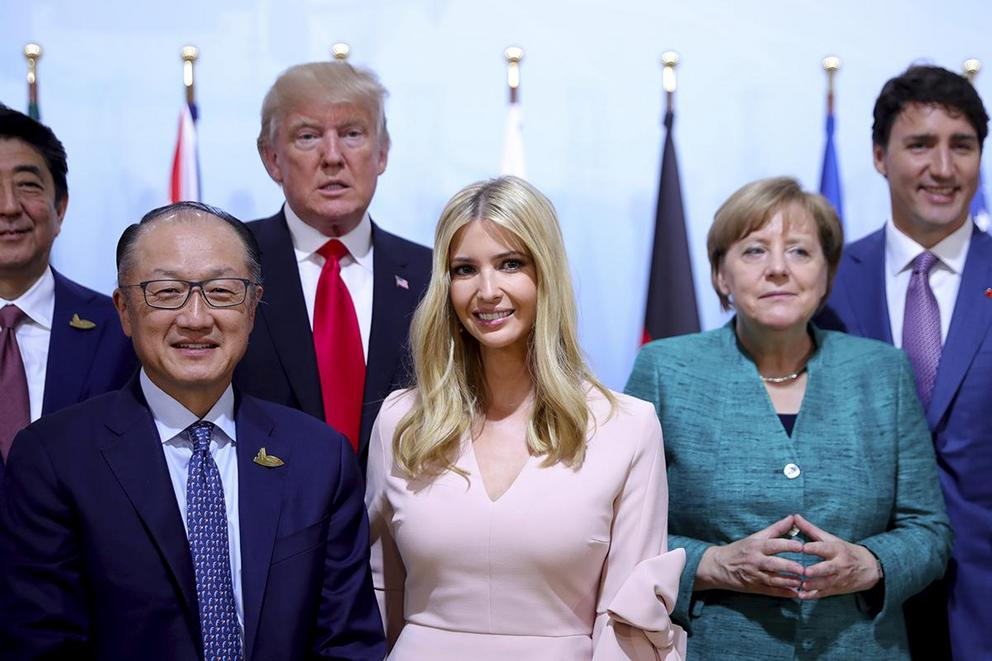 Was it wrong for Ivanka to sit in for President Trump at the G-20?
