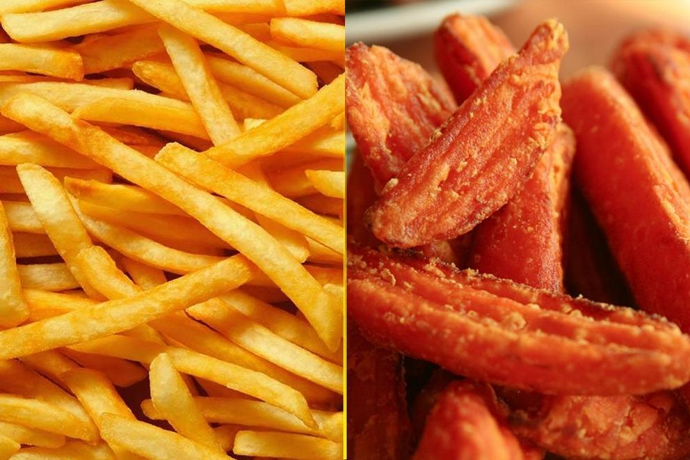 Which fries are the best: Regular fries or sweet potato fries?
