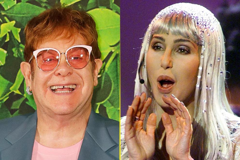 Music's greatest gay icon: Elton John or Cher?