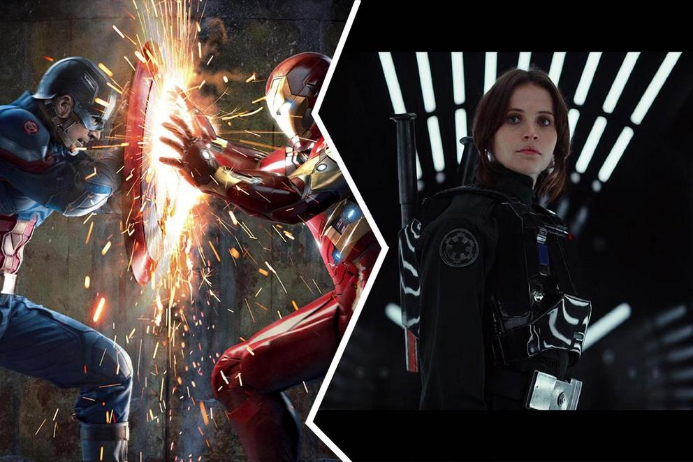 Blockbuster of 2016: 'Civil War' or 'Rogue One'?