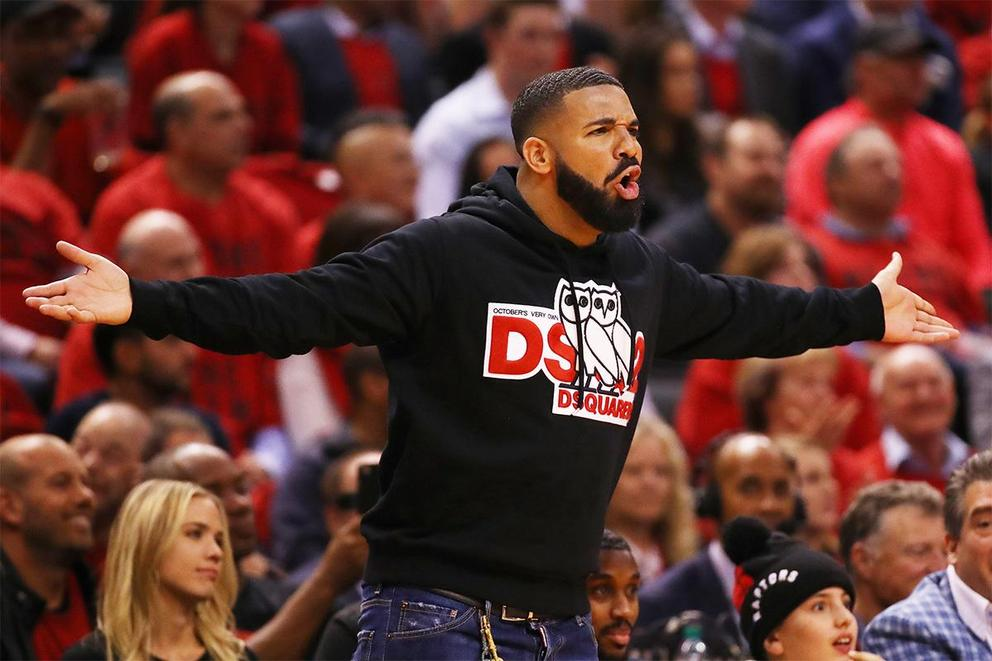 Should Drake be allowed to give back rubs at Raptors games?
