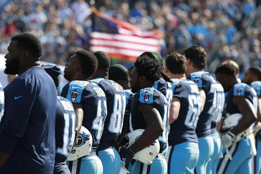 Should the national anthem be banned from sporting events?