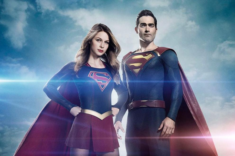 Superman is coming back to the CW. Does his costume look like a knockoff?