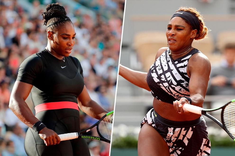 Which Serena Williams look is better: the catsuit or the belly suit?