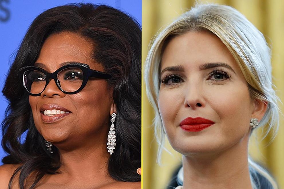 Who should be the first female president: Oprah Winfrey or Ivanka Trump?
