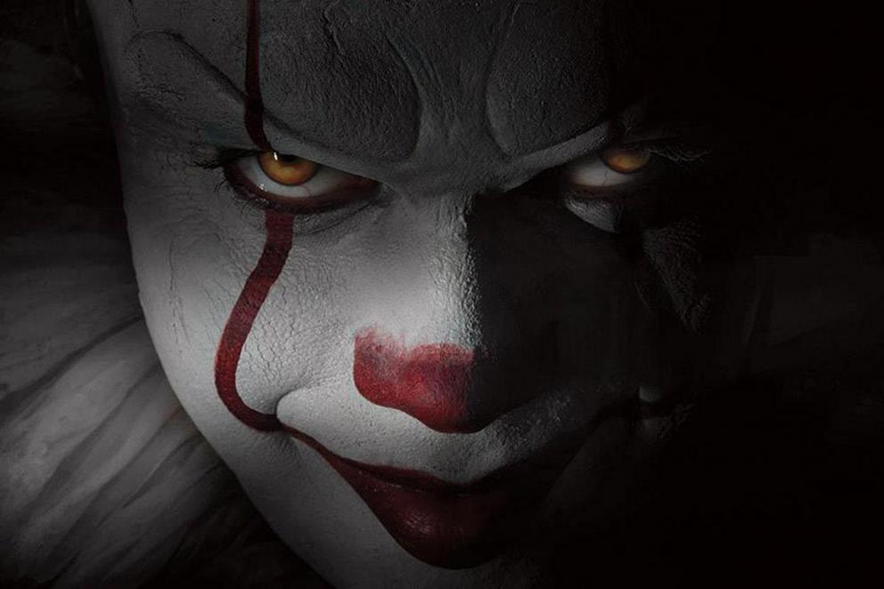 Is Pennywise's new look frightening or a bad Shakespearean ripoff?